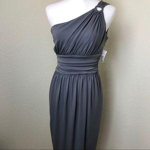 Maggy London gray dress NWT